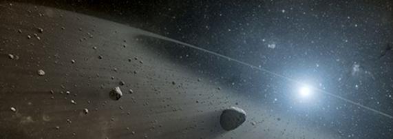 Asteroid Belt Found Around Vega