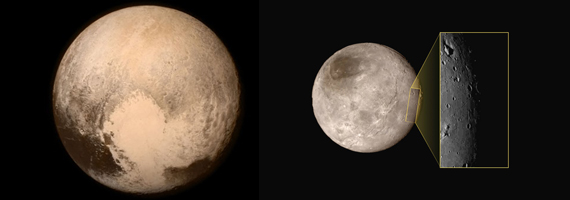 Steward Sabbatical Visitor Involved in Image Processing of the Pluto Photos