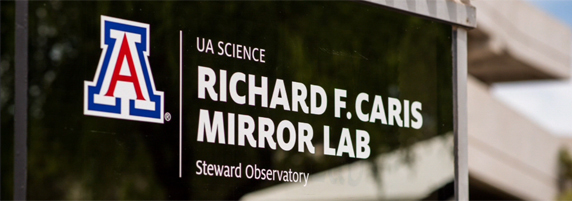 Richard F. Caris Mirror Lab Dedication