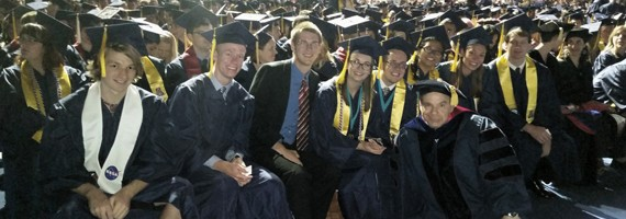 Undergrads Who Received MINORS in Astronomy in 2015