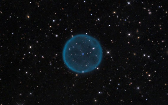 Spherical Planetary Nebula Abell 39