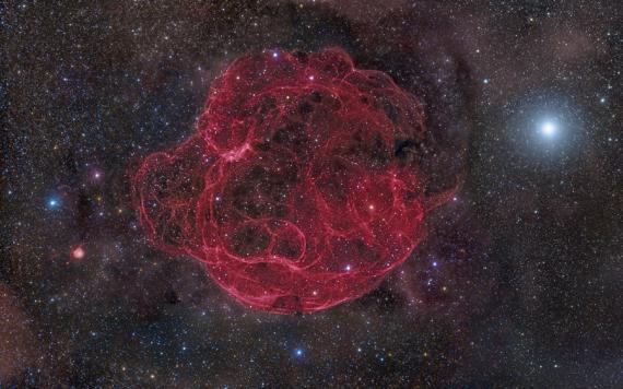 Simeis 147: Supernova Remnant