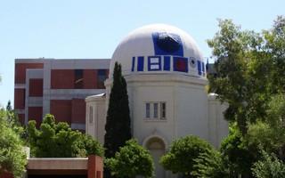 R2-D2 Visits Steward Observatory